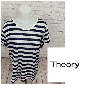 Theory Lisso Linen T-Shirt